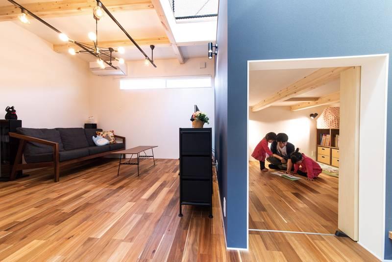 室内ですべての家事が完結できる 家事、子育てが楽しくなる家 画像8枚目