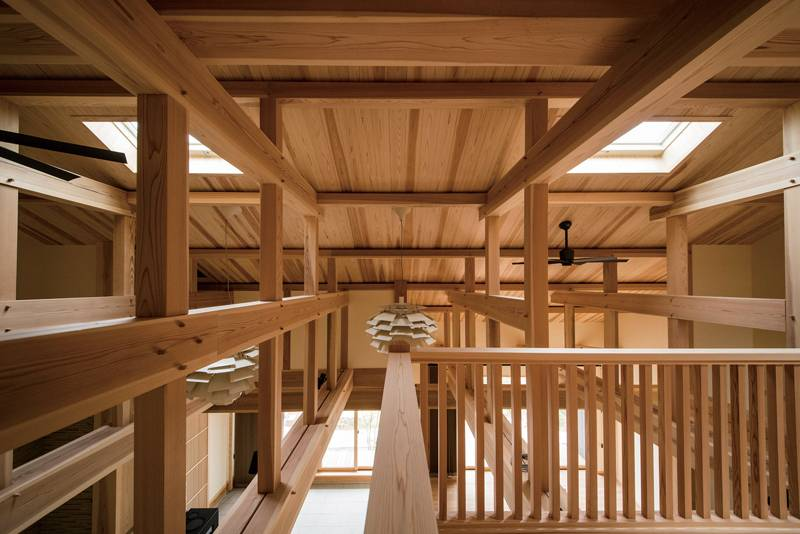 大空間が暮らしを豊かに 景色を大切にした二世帯住宅 画像9枚目