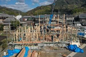 宇和島市大浦1邸目 構造見学会開催!