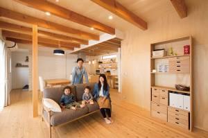 快適な動線と自然を味方に付けた、子育てをサポートするパッシブ住宅。 画像6枚目