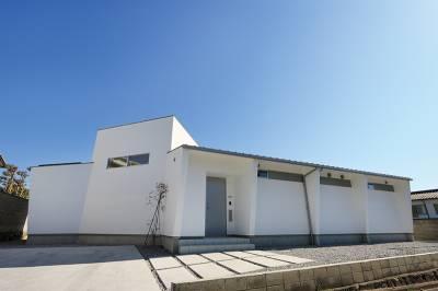 快適で家事がしやすくかっこいい家。高い設計力と信頼関係で難条件クリア。