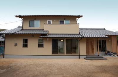 日本生まれの木と職人が作る質感と技が織りなす建築。