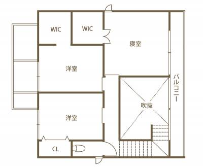 家族の幸せを創造する 最先端の未来住宅 2F間取り図